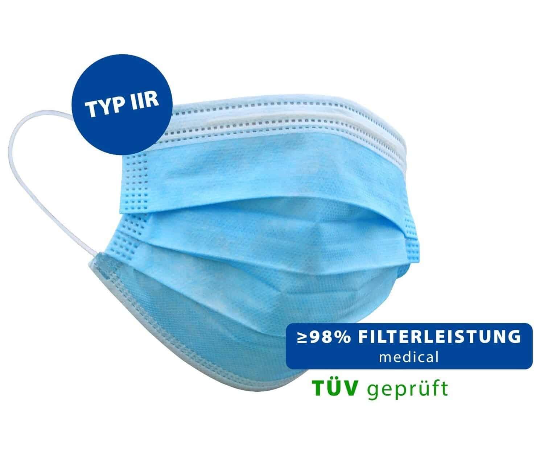 Schutzmaske Typ IIR