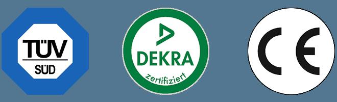zertifizierte Atemschutzmasken