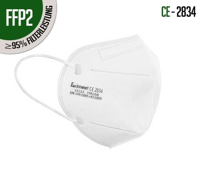FFP2 Schutzmasken schützen noch besser vor Viren und Bakterien. Dieser Schutzmaskentyp wird vom BAG empfohlen.